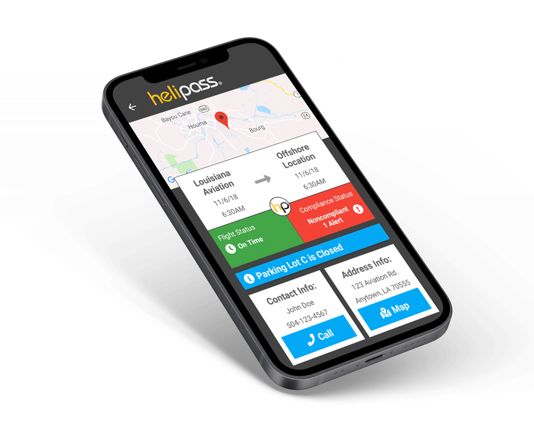 helipass mobile software